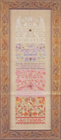click here to view larger image of Harmony Sampler (Limited Edition) (counted cross stitch kit)