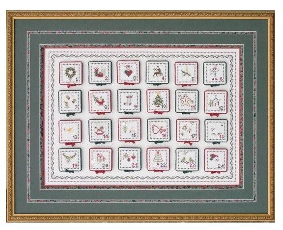 click here to view larger image of Advent Calendar and Petite Ornamentals (chart)