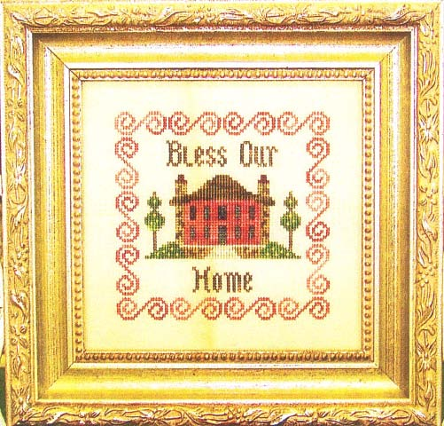 click here to view larger image of Bless Our Home (chart)