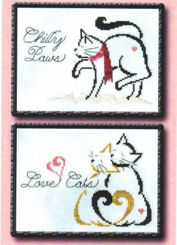 click here to view larger image of Britty Kitty Monthly Series - January / February (chart)