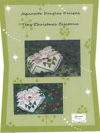 click here to view larger image of Tiny Christmas Biscornu (chart)