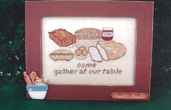 click here to view larger image of Come Gather At Our Table (chart)