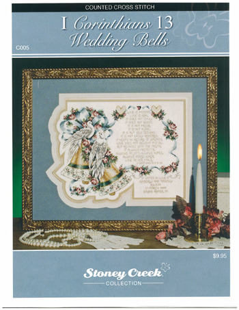 click here to view larger image of I Corinthians 13 - Wedding Bells  (chart)