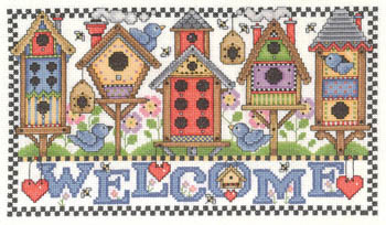 click here to view larger image of Birdhouse Welcome (chart)