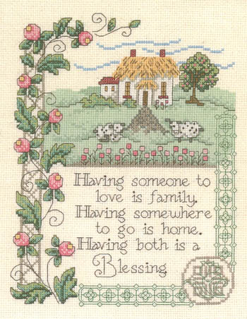 click here to view larger image of House Blessing (chart)