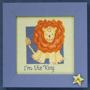 click here to view larger image of Lion - Wild Life (2009)  (counted cross stitch kit)