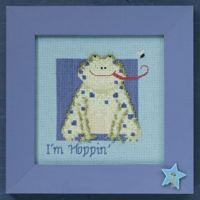 click here to view larger image of Frog - Wild Life (2009)  (counted cross stitch kit)
