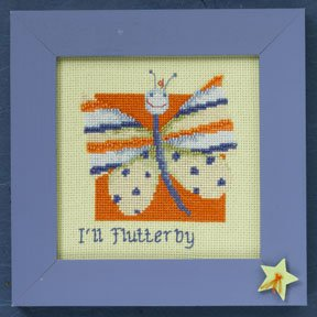 click here to view larger image of Butterfly - Wild Life (2009)  (counted cross stitch kit)