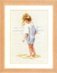 click here to view larger image of Beach comber  (29.086) (counted cross stitch kit)