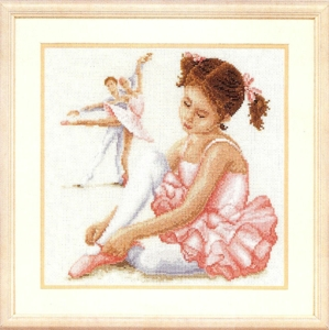 click here to view larger image of Ballerina (75.083) (counted cross stitch kit)