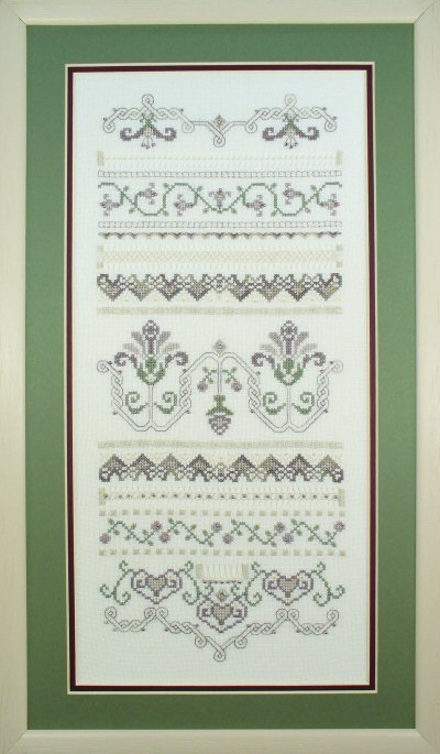click here to view larger image of Memory Lane (Hardanger and Cut Work)