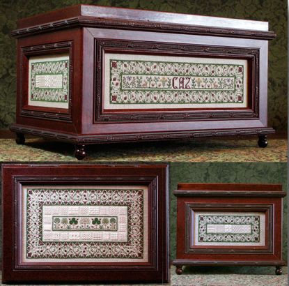 click here to view larger image of CiCi's Sewing Casket (chart)