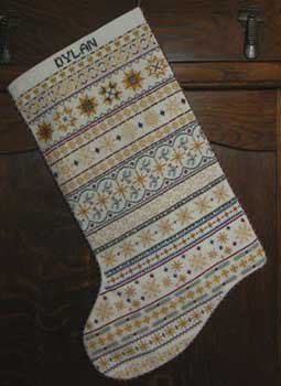 click here to view larger image of My Stars Christmas Stocking (chart)