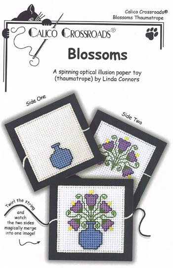 click here to view larger image of Blossoms (chart with charms/buttons)