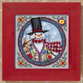 click here to view larger image of Eastern Snowman (2009) (counted cross stitch kit)