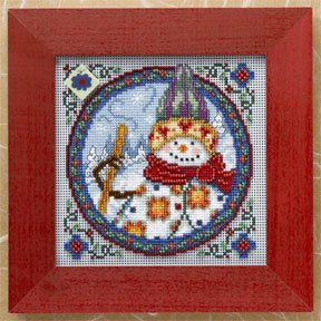 click here to view larger image of Northern Snowman (2009) (counted cross stitch kit)