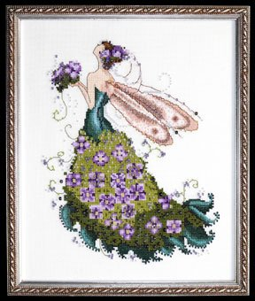 click here to view larger image of Lilac Spring Garden  - Pixie Couture (chart)