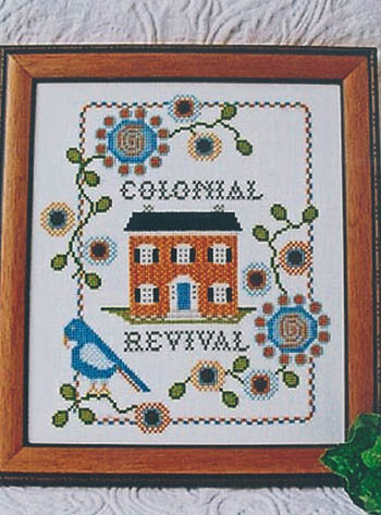 click here to view larger image of Colonial Revival (chart)