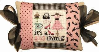 click here to view larger image of Girl Things (counted cross stitch kit)