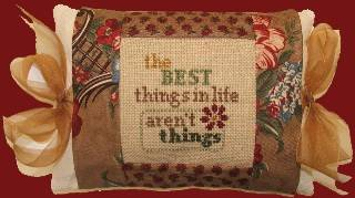 click here to view larger image of Best Things, The (counted cross stitch kit)