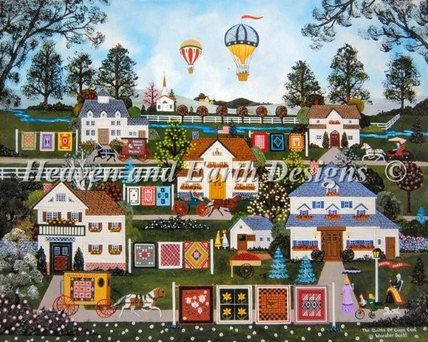 click here to view larger image of Quilts of Cape Cod, The (chart)