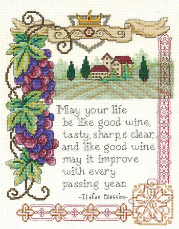 click here to view larger image of Italian Blessing (chart)