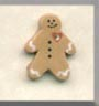 click here to view larger image of Petite Gingerman  (buttons)