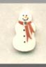 click here to view larger image of Petite Snowman (buttons)