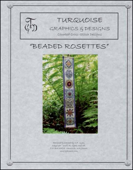 click here to view larger image of Beaded Rosettes (chart)
