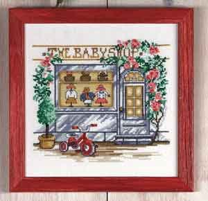 click here to view larger image of Baby Shop (counted cross stitch kit)