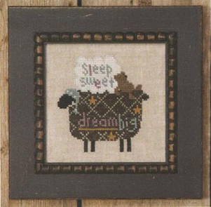 click here to view larger image of Black Sheep (counted cross stitch kit)