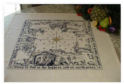 click here to view larger image of The Nativity Story - Table Topper (chart)