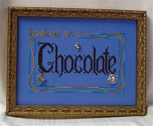 click here to view larger image of Hooked on Chocolate (chart with charms/buttons)