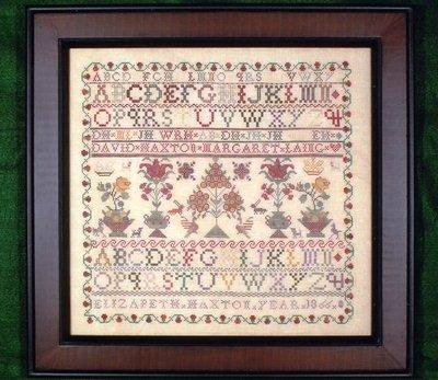 click here to view larger image of Elizabeth Haxton - A Scottish Sampler (chart)
