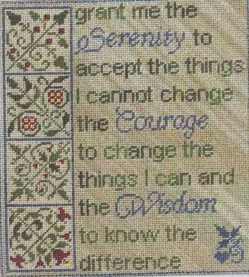 click here to view larger image of Serenity (chart with charms/buttons)
