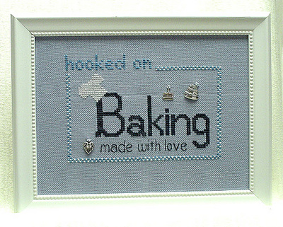 click here to view larger image of Hooked on Baking  w/charms (chart with charms/buttons)
