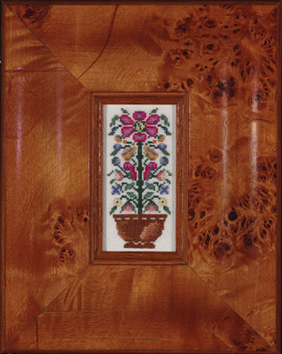 click here to view larger image of Garden Basket (counted cross stitch kit)
