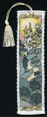 click here to view larger image of Hill Town  Bookmark (counted cross stitch kit)