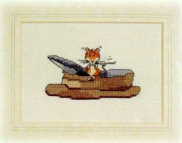 click here to view larger image of Come and See (counted cross stitch kit)