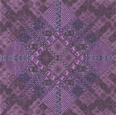 click here to view larger image of Glitz & Glamour Amethyst (counted canvas work)