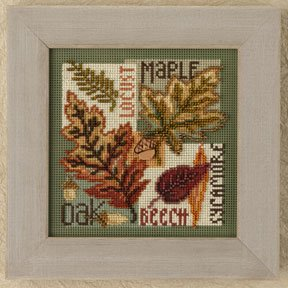 click here to view larger image of Fall Leaves (button-bead kit)