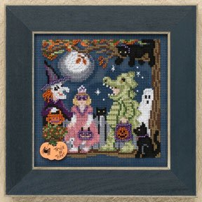 click here to view larger image of Halloween Night (button-bead kit)