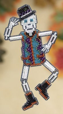 click here to view larger image of Mr Bones  (2009) (counted cross stitch kit)