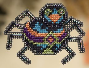 click here to view larger image of Sassy Spider  (2009) (counted cross stitch kit)