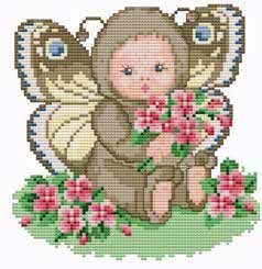 click here to view larger image of Butterfly Baby (chart)
