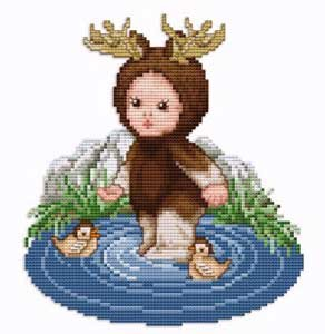 click here to view larger image of Moose Baby (chart)