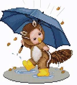 click here to view larger image of Chipmunk Baby (chart)