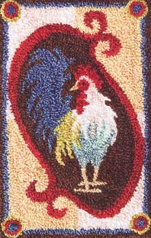 click here to view larger image of Rooster (Punchneedle)
