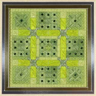 click here to view larger image of Glitz & Glamour Peridot (counted canvas chart)