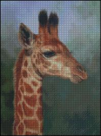 click here to view larger image of Young Giraffe (chart)
